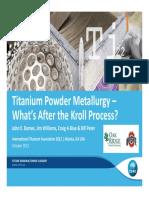 Titanium Metallurgy