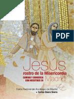 Jesus, Rostro de La Misericordia, Camina y Conversa Con Nosotros en Madrid