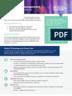 Chronic Pain Management Fact Sheet