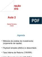 Aula_02 Adm. Financeira 2016 Estacio