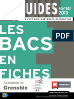 Fiches Bac 2013 Grenoble