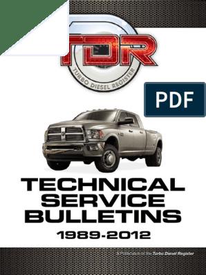 Tsb Ram 3500 | Automatic Transmission | Transmission (Mechanics)