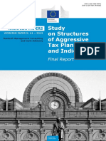 Taxation Paper 61 - Study on Structures of Aggressive Tax Planning and Indicators
