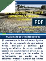 Tecnología disponibles para el tratamiento de aguas residuales.pdf