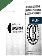 Regime Juridico Dos Servidores de Barcarena