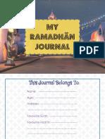 Ramadhān Journal Boys