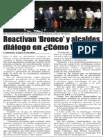 27-05-16 Reactivan 'Bronco' y alcaldes diálogo en ¿Cómo Vamos?