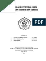 Daftar Contoh Soal Dan Penyelesaian Limit Dan Kekontinuan ...