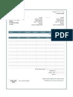 Format Invoice New