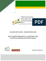 Guia Del Postulante - PROBECA ABQ 2016
