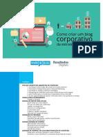eBook Como Criar Um Blog Corporativo