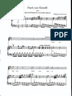 Frisch Zum Kampfe by Mozart