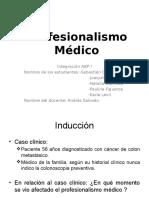 El profesionalismo medico