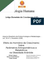 Hormônio Do Crescimento - Seminário Sobre Artigo