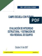 Evaluación de Integridad (Ecopetrol)
