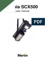 SCX500 Manual