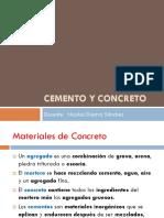 Cemento Concreto 3