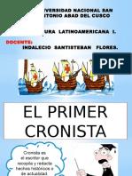 Diapositivas de Cristobal Colon