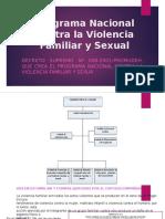 Programa Nacional Contra La Violencia Familiar y Sexual