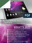 Microsoft Surface Presentation