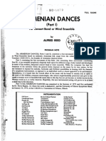 Armenian Dances Part I Score