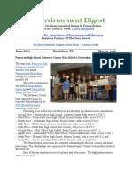 Pa Environment Digest May 30, 2016