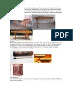 Instrumentos Ancestrales y Definicion de Palabras