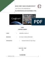TRABAJO Google Earth