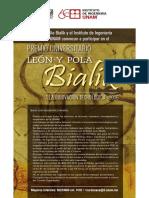 Premio Leon y Pola Bialik a la Innovación Tecnológica 2016