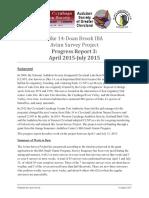 CLNP Avian Surveys 150805 Report 003 Short