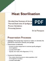 Heat Sterilisation 1