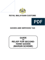 Guide on Margin Scheme 2015