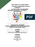 Instalacion, Arranque Estrella-triángulo Del Motor Asíncrono Trifásico Con Contactores