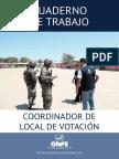 Cuaderno de Coordinador Del Local de Votacion AV