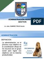 Adminidtración, Gerencia y Gestion EXAMEN 1
