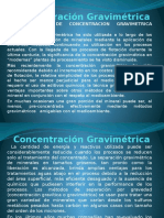 Curso Concentracion Gravimetrica 2
