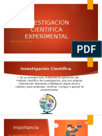 Investigacion Cientifica Experimental