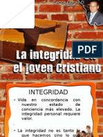 LA INTEGRIDAD EN EL JOVEN CRISTIANO