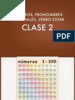 Spanish Lesson 2