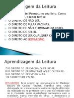 Slides de Alfabetizacao II