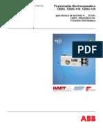Posicionador Electroneumático TZIDC, TZIDC-110, TZIDC-120