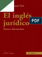 El Ingles Jurídico Capitulo I (1 a 30)