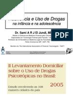 Resiliência e Uso de Drogas