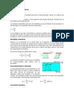 Aplicacion de Formulas de La Viscosidad