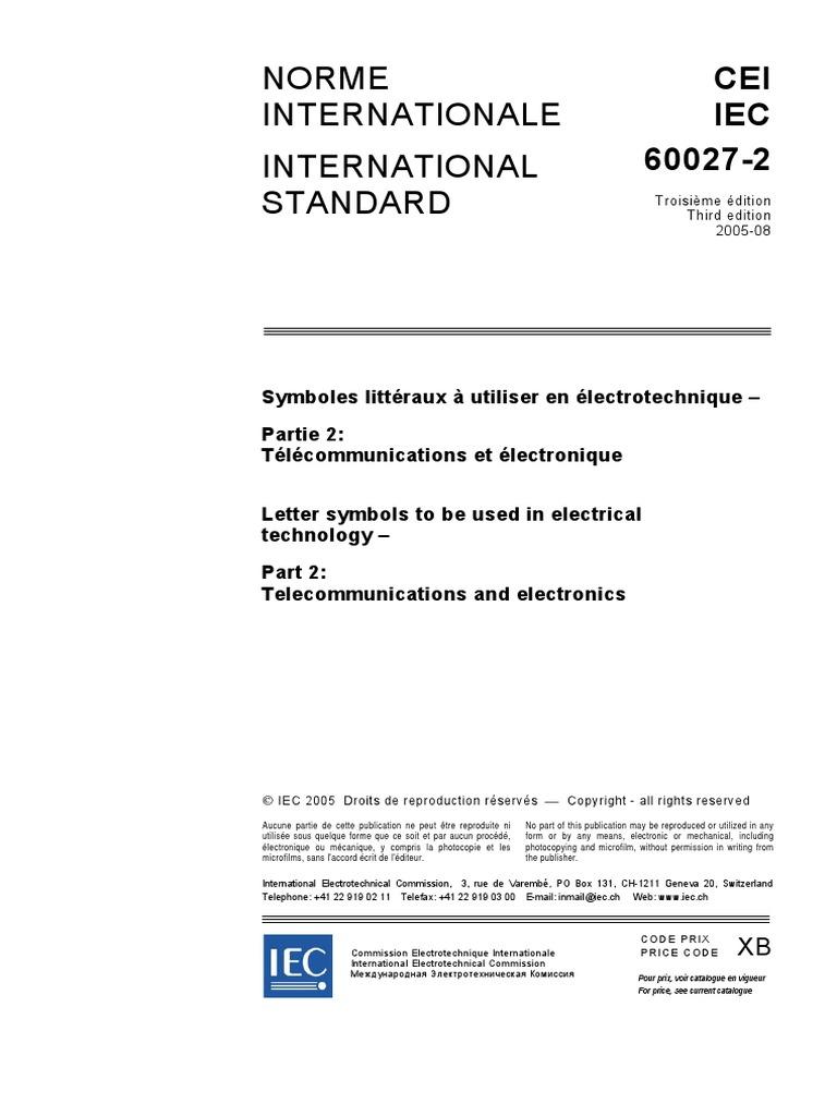 Iec 60027 2 symbols international electrotechnical commission iec 60027 2 symbols international electrotechnical commission waveguide buycottarizona