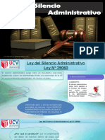 Ley Del Silencion Administrativo y