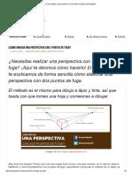 ¿Cómo Dibujar Una Perspectiva Con 2 Puntos de Fuga_ _ Arquinetpolis