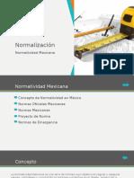 Normatividad en Mexico