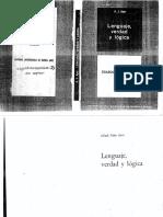 Ayer a j 1965 Lenguaje Verdad y Lc3b3gica Buenos Aires Eudeba