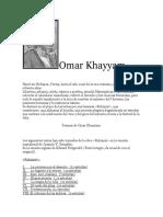 Poemas de Omar Khayyam